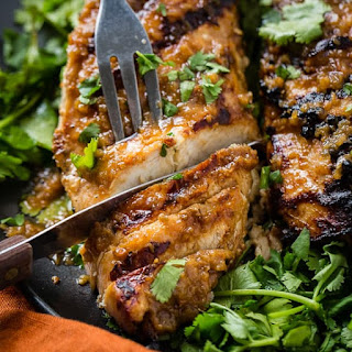 Asian Ginger Marinade for Grilled Chicken Recipe