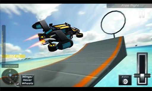 Flying Stunt Car Simulator 3D