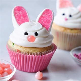 Happy Bunny Cupcakes.