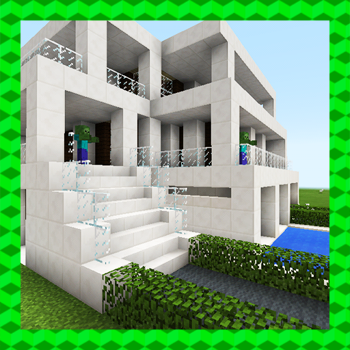 The Incredible Mansion. MCPE map