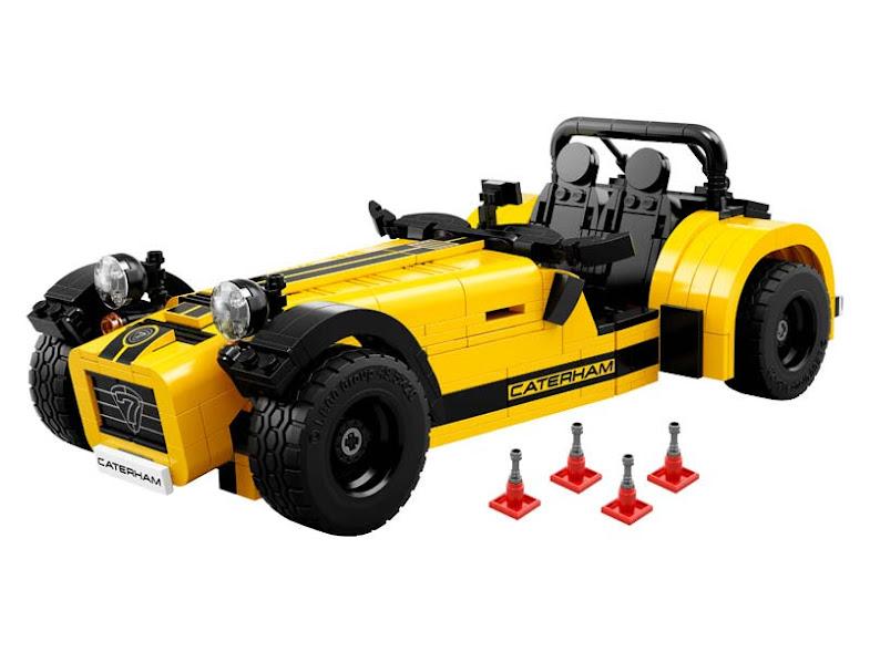 Contenido de Lego® 21307 Caterham Seven 620R