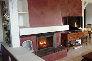 cheminée béton ciré loiret