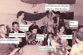 Photo: P fam Bouman; Dirk en Marie zijn 25 jaar gehuwd