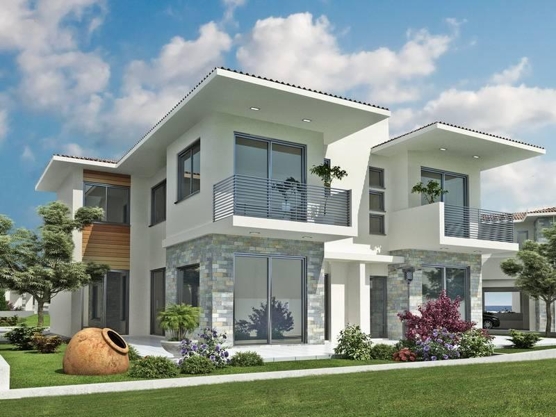 Home exterior design ideas android apps on google play for Front house design for small houses