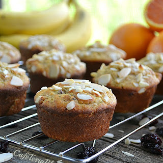 Orange Almond Morning Muffins (Sugar-Free and Gluten-Free)