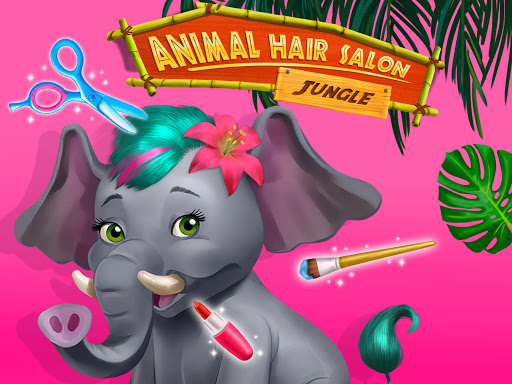 Jungle Animal Hair Salon - Styling Game for Kids android2mod screenshots 15