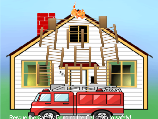 Fire Truck Cat Rescue PRO