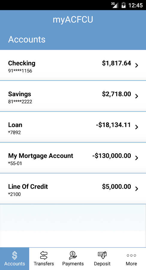 Appalachian Community FCU- screenshot