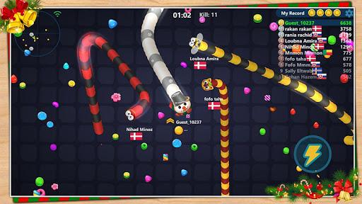 Code Triche Serpent aux bonbons APK MOD screenshots 4