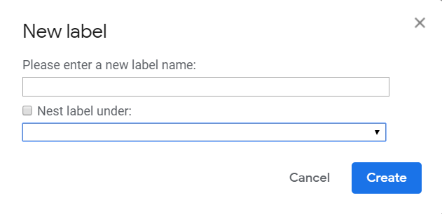 How to Create Gmail Labels and Drastically Improve Productivity - nest under, label names - autoklose.com