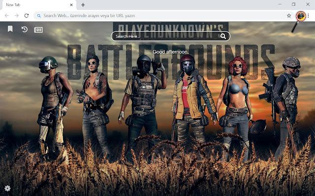 Battlegrounds PUBG Wallpapers Theme New Tab