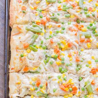 Turkey Pot Pie Slab Pizza