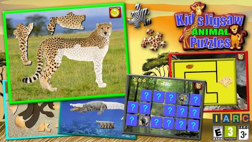 Kids Animal Jigsaw Puzzles 1.8 screenshots 1