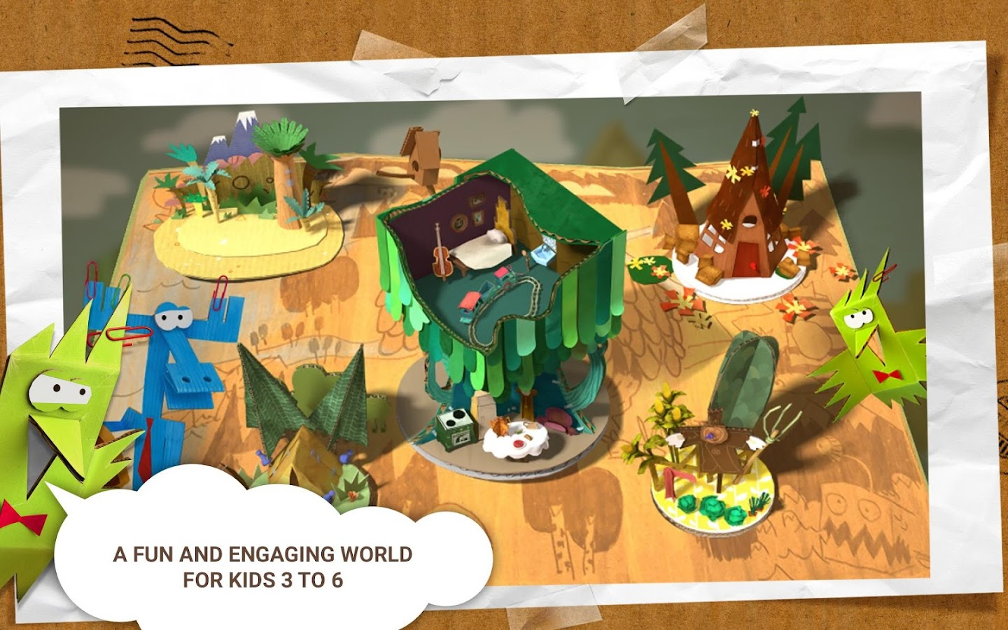 Paper Tales Free- screenshot