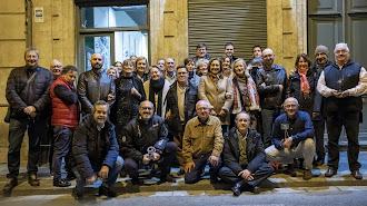 Foto de familia de los integrantes del Grupo Indalo Foto.