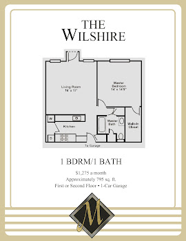 Go to Wilshire Floorplan page.