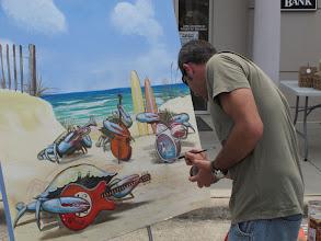 "Photo: 2nd-place Tieg Grennan ""Crabby Band at the Beach"""