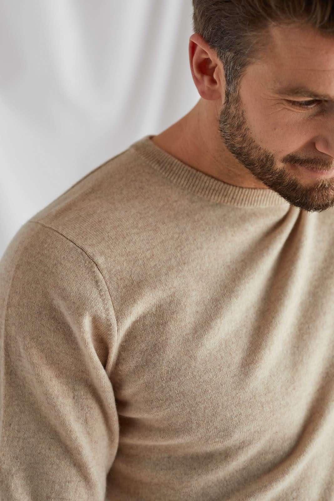 Man O-neck Plain