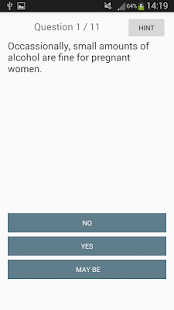 Pregnancy Women Quiz - náhled