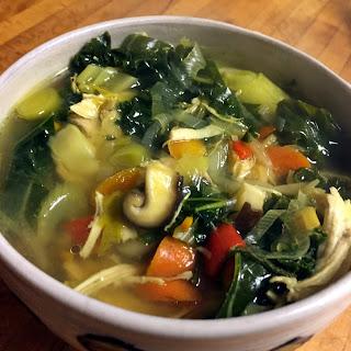 Paleo Immune Boosting Soup.