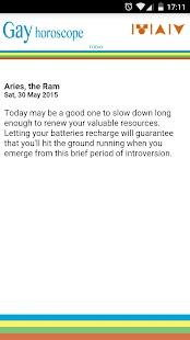 Gay Horoscope - náhled