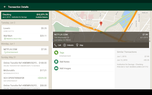 IFS goMobile Banking screenshot