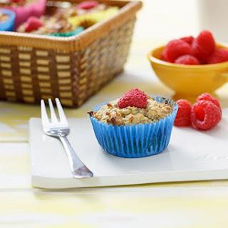 Gluten Free Raspberry & Walnut Muffins