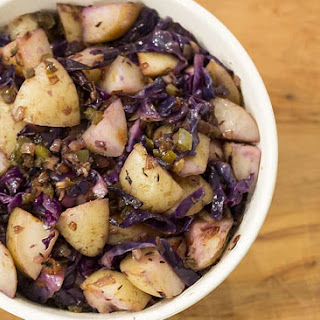 Red Cabbage & Potato Salad