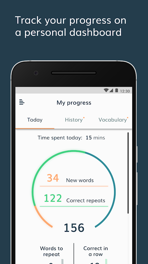 Lingvist: Language Learning- screenshot