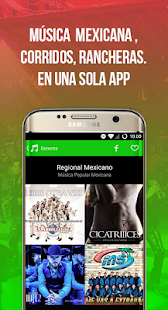 Radiulo Free Mexican music and Mexican radio- screenshot thumbnail