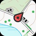 Topo GPS Denmark icon