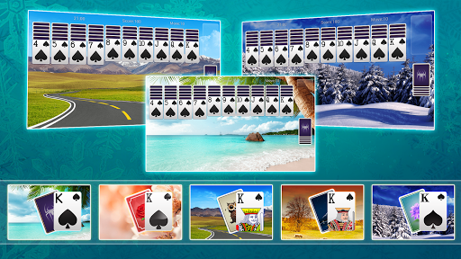 Classic Spider Solitaire-Free Solitaire Card Games 1.7.1 screenshots 8