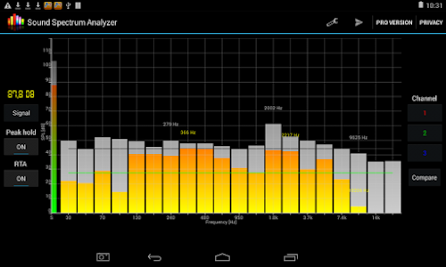 Sound Spectrum Analyzer 7 0 APK for Android