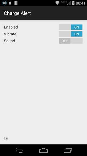 Charge Alert screenshot 1