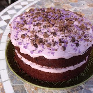Violet Cream Cake – Recipe