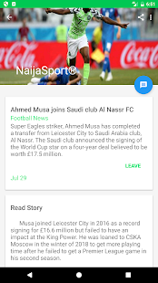 NAIJA SPORT - EAGLE SPORT HUB for PC-Windows 7,8,10 and Mac apk screenshot 3