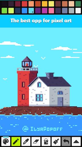 Pixel Studio - Pixel art editor, GIF animation 1.38 screenshots 1