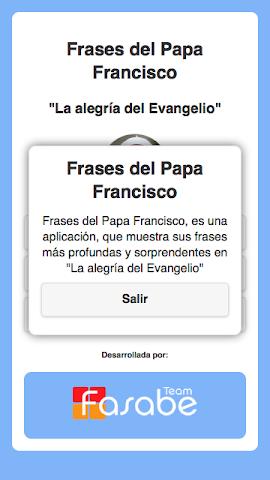android Frases del Papa Francisco Screenshot 7