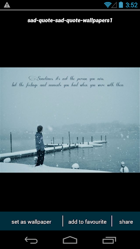 Emo Sad Quote Wallpapers