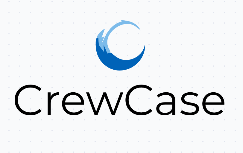 CrewCase logo in AI logo maker tool