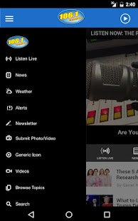 106.1 KISS FM - Evansville's Pop Radio (WDKS)- screenshot thumbnail