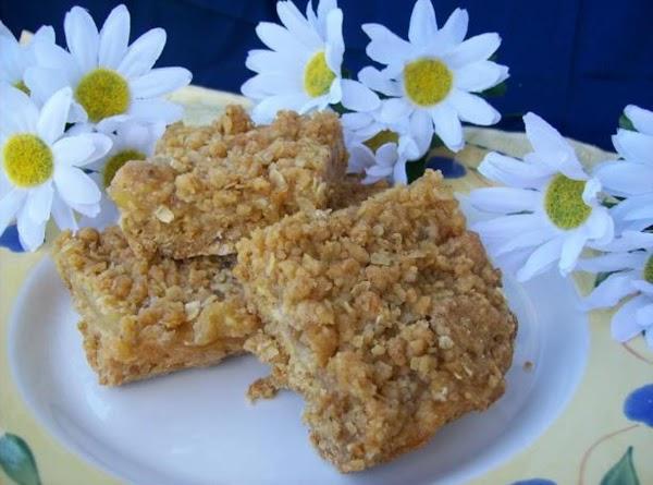 Apple Pie Crumb Bars Recipe