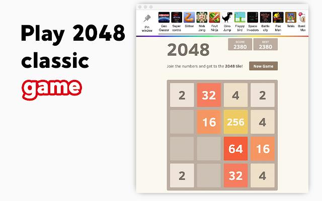 2048 - Retro Classic Games