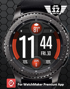 VIPER 116 color changer watchface for WatchMaker for PC-Windows 7,8,10 and Mac apk screenshot 1