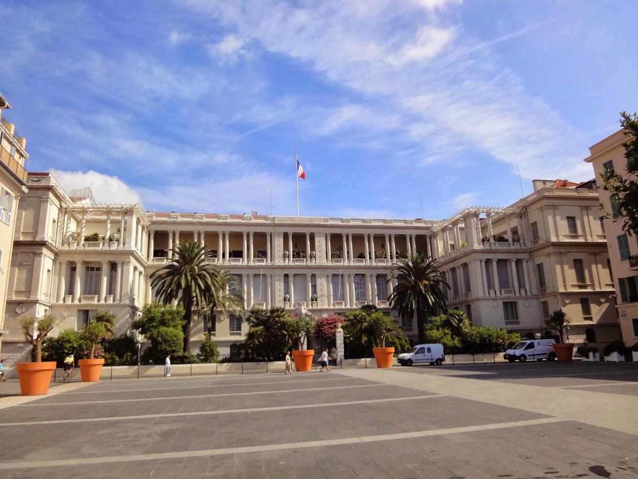 Palais des Ducs de Savoie à Nice