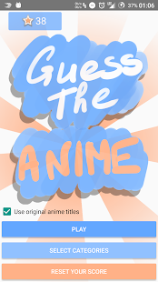 Guess The Anime - náhled