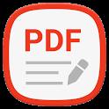Write on PDF icon