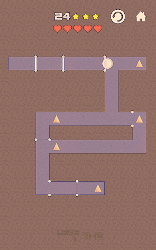 Geometry Swipe Maze - Dash