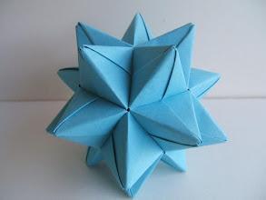 Photo: L'étoile bleue à 20 branches