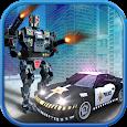 Modern Police Robot Squad